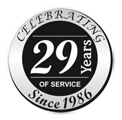 Over 20 Years of Service!